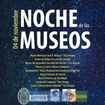 imagen 1 de la noticia NOCHE DE LOS MUSEOS: INTERESANTES ACTIVIDADES EN LA CIUDAD Y LOCALIDADES publicada el 2017-10-25