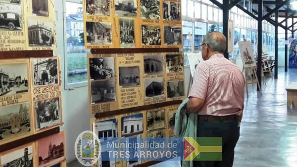 imagen 1 de la noticia 134º ANIV TS. AS. ABRIL:  EXPOSICIÓN FOTOGRÁFICA HISTÓRICA DE LA CIUDAD EN EL CENTRO CULTURAL LA ESTACIÓNpublicada el 2018-04-13