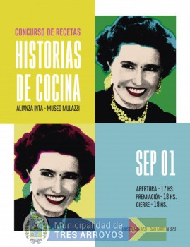 imagen 1 de la noticia Historias de cocina. Concurso de recetas Inta - Museo Mulazzipublicada el 2018-08-29