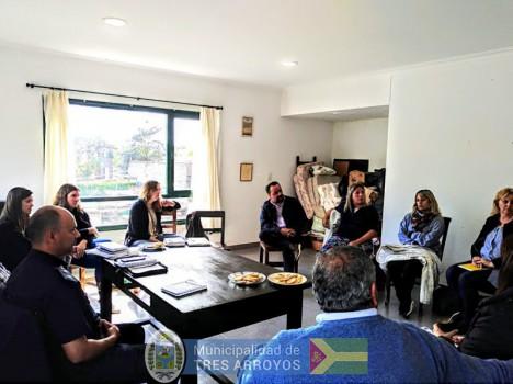 imagen 1 de la noticia Desarrollo Social: Coordinan trabajo de asistencia con instituciones educativas de Orensepublicada el 2018-10-17