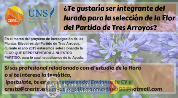 imagen 1 de la noticia Jurado elección de la Flor del partido de Ts.As.publicada el 2018-12-12
