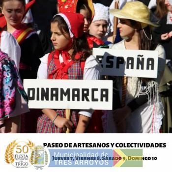 imagen 1 de la noticia El Paseo de Artesanos y Colectividades: Otra gran propuesta en el predio de la Fiesta Provincial del Trigopublicada el 2019-03-01