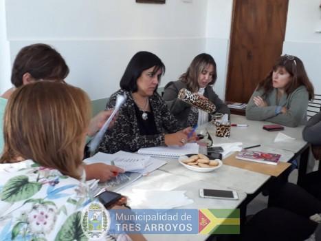 imagen 1 de la noticia Noemi Rivas recorrió las localidadespublicada el 2019-04-10