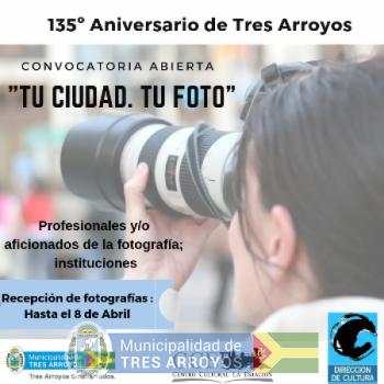 imagen 1 de la noticia  135  ANIVERSARIO CIUDAD DE TRES ARROYOSpublicada el 2019-04-10