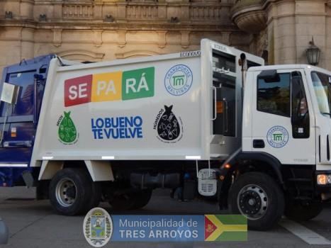 imagen 1 de la noticia Reestructuracion del servicio de recolección de residuos por feriadospublicada el 2019-06-14