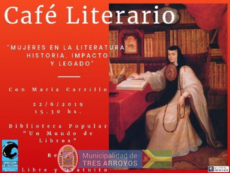 imagen 1 de la noticia RETA: CAFE LITERARIO EN LA BIBLIOTECA POPULAR