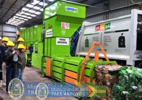 imagen 1 de la noticia Aniversario 3er año planta de recicladopublicada el 2019-06-24