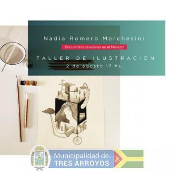 imagen 1 de la noticia Museo Mulazzi: Taller de ilustracion a cargo de Nadia Romero Marchesinipublicada el 2019-07-24