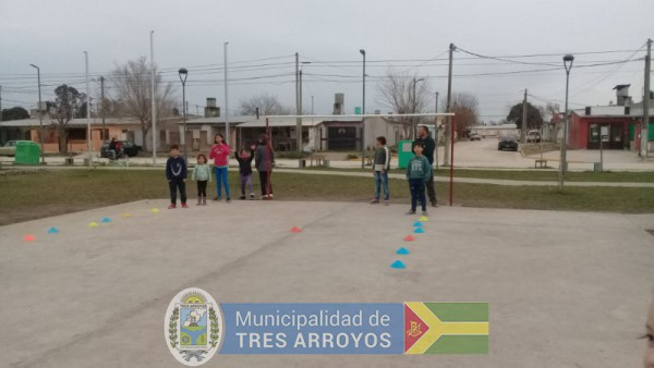 imagen 1 de la noticia Iniciación deportiva en el barrio solidaridadpublicada el 2019-08-23