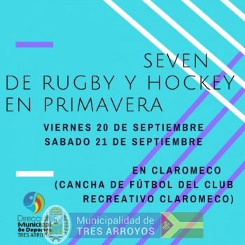 imagen 1 de la noticia Torneo Seven de Rugby y Hockey para la primavera en Claromecopublicada el 2019-09-16