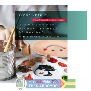 imagen 1 de la noticia Taller de navidad para chicas guiado por Ivone Verkuylpublicada el 2019-12-06