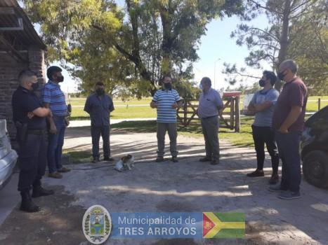 imagen 1 de la noticia Fructífera visita del Intendente Carlos Sánchez a la localidad de Copetonas.publicada el 2021-01-22
