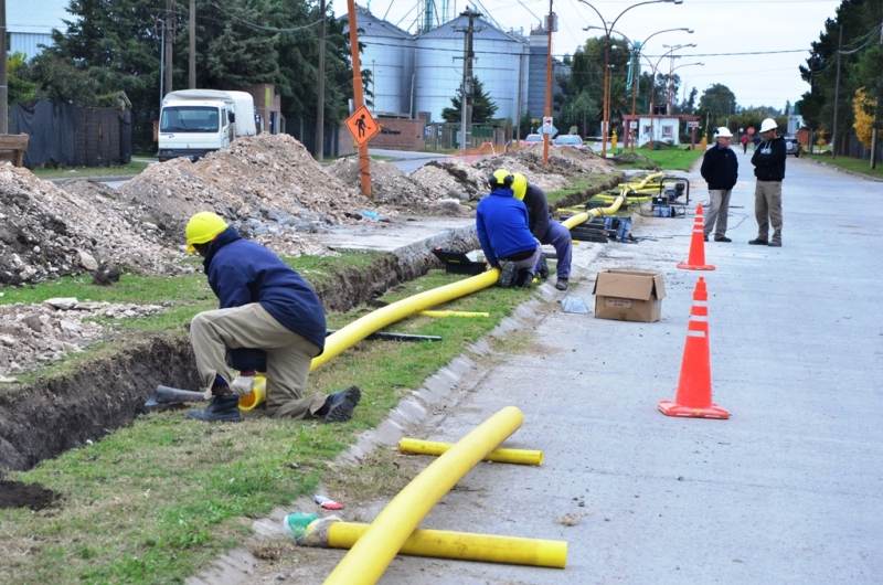 Gas Extension de redes