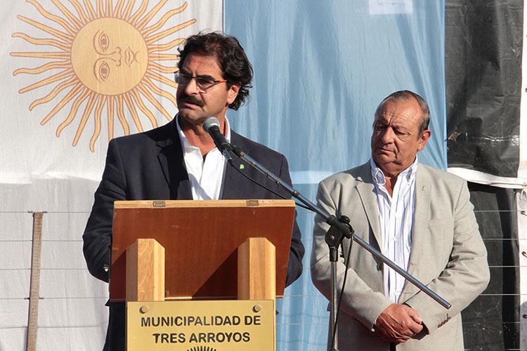 DISCURSO DEL MTRO. DE AGROINDUSTRIA DE LA PCIA. DE BS AS, ING. LEONARDO SARQUÍS: